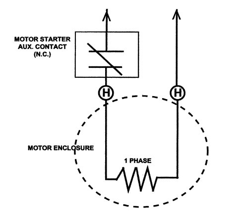usem space heater connection diagram
